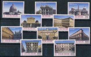 Architectural monuments set Építészet sor