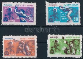 1982 Ázsiai Sport Játékok, New Delhi (I) sor Mi 1268-1271