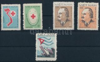Red Cross set + Georgi M. Dimitroff set + Cuban victory stamp Vöröskereszt sor  + Georgi M. Dimitroff sor  + Kubai győzelem