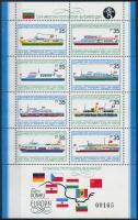 Liners block, Személyszállító hajók blokk