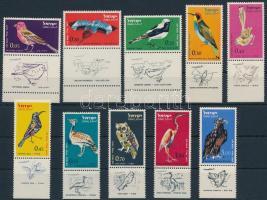 Madarak, légiposta tabos Birds, airmail with tab