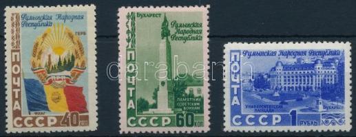 Soviet-Romanian friendship set Szovjet-román barátság
