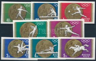 1969 Olimpiai érmesek (II.) vágott sor (3.200)