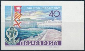 1969 Az 1968. Balaton (II) kiegészítő értéke vágott ívszéli 40f (2.000)