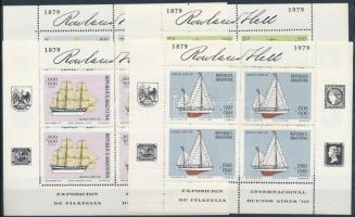 International Stamp Exhibition mini sheet set, Nemzetközi bélyegkiállítás kisív sor