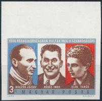 1974 Ellenállók vágott ívszéli bélyeg