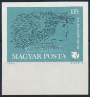 1975 A Nők Nemzetközi Éve vágott ívszéli bélyeg