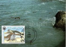 1986 WWF Fókák CM Mi 871-874
