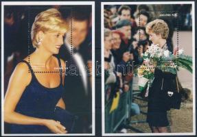 1998 Diana hercegnő blokksor Mi 76-77