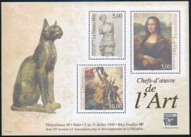 International Stamp Exhibition PHILEXFRANCE block Nemzetközi bélyegkiállítás PHILEXFRANCE blokk