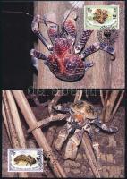 WWF Coconut crab set on 4 CM WWF: Pálmatolvaj sor 4 db CM-en
