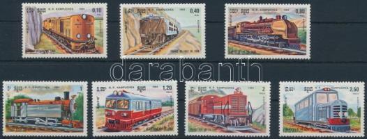 Mozdony sor Locomotives set