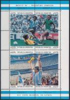 Labdarúgó VB, Mexikó kisívsor Football World Cup, Mexico minisheet set