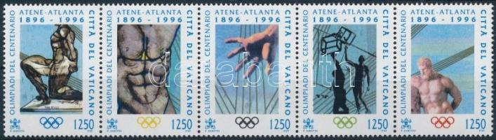 Olympic Games set in stripe of 5, Olimpiai játékok sor ötöscsíkban
