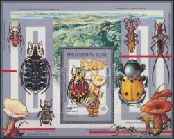Insects and Mushrooms block, Rovarok és Gombák blokk