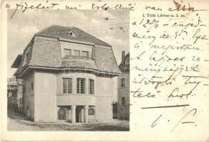 Budapest XII. Villa a Tóth Lőrinc utca 3. szám alatt