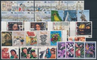 1985-1987 28 klf bélyeg 1985-1987 28 diff stamps