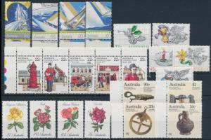 1980-1987 17 klf bélyeg + ötöscsík