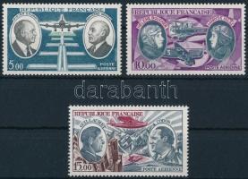 1971-1973 Pilóta motívum 3 klf bélyeg, 1971-1973 Pilots 3 stamps