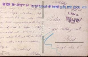 1914 Képeslap M. Kir. budapesti 30. honvéd gyalog ezred műszaki század+TP414