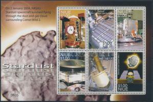 NASA űrkutatás kisív NASA space exploration minisheet