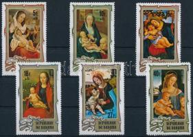 Christmas set Karácsony: festmények sor