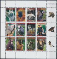 2006 Majmok kisív Mi 2077-2088