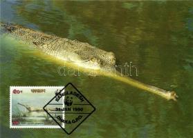 1990 Gangaszi krokodil CM Mi 323-329
