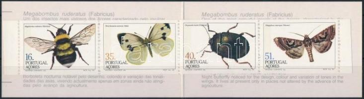 Rovarok bélyegfüzet Insect stampbooklet