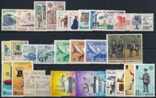 Europa CEPT 68 érték Europa CEPT 68 stamps