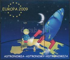 Europa CEPT Asztronómia blokk Europa CEPT Astronomy block