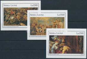 Rubens festmény blokksor Rubens paintings blockset