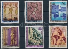 UNESCO : Historical monuments of Nubia set UNESCO: Núbiai műemlékek sor