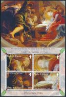 Rubens paintings mini sheet, Rubens festmény kisív