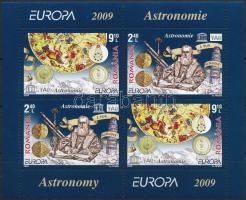 Europe CEPT, Astronomy block, Europa CEPT, Csillagászat blokk