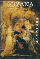 Rubens painting block Rubens festmény blokk