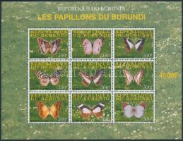 Butterfly mini sheet Lepke kisív