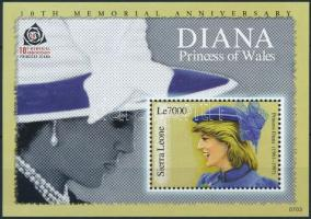 2007 Diana hercegnő blokk Mi 632