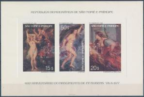 Rubens paintings set de luxe blocks Rubens festmény sor de luxe blokkokban