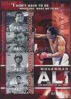 Muhammad Ali mini sheet Muhammad Ali kisív