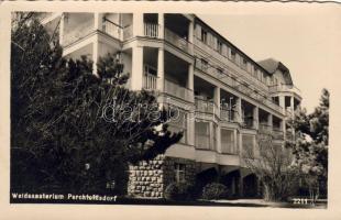 Perchtoldsdorf sanatorium, Perchtoldsdorf Waldsanatorium