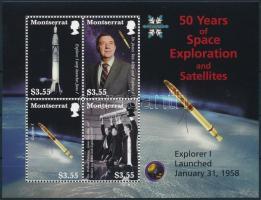 Space Travel block 50 éves az űrutazás blokk