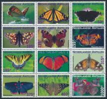 Butterfly block of 12 Lepkék sor 12-es tömbben
