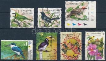 1962-2004 44 Bird stamps 1962-2004 44 db Madár bélyeg 2 stecklapon