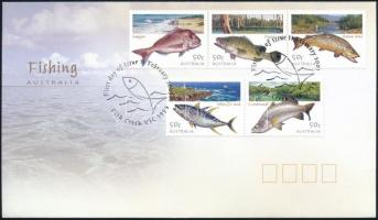 Fishes set FDC, Halak sor FDC-n