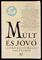 2002 Múlt és jövő. Zsidó kulturális folyóirat. Új folyam 2002/2-3. szám. Szerk.: Kőványai János. Bp., Múlt és Jövő Lap- és Könyvkiadó Bt. Papírkötés.