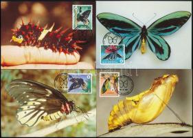 WWF Butterfly set 4 CM WWF: Pillangó sor 4 db CM-en