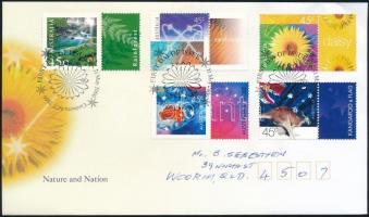 Nature and nation set with coupon, Természet és nemzet szelvényes sor