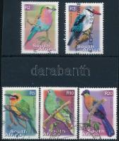 Birds - 5 stamps Madarak: 5 db  bélyeg