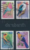 4 bird stamp, 4 db Madár bélyeg